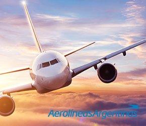 Vuelos con/Aerolíneas Argentinas